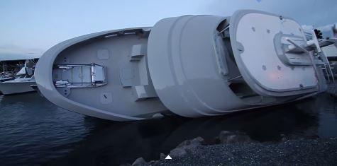 Après le chavirage d'un yacht, le chantier Northern Marine dans la tempête