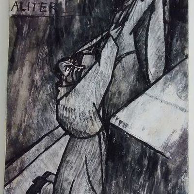""""""" Elévation"""" ( poème de Régis Roux d'après l'oeuvre de Geneviève Gallois du même nom. Mais 2021.)"""