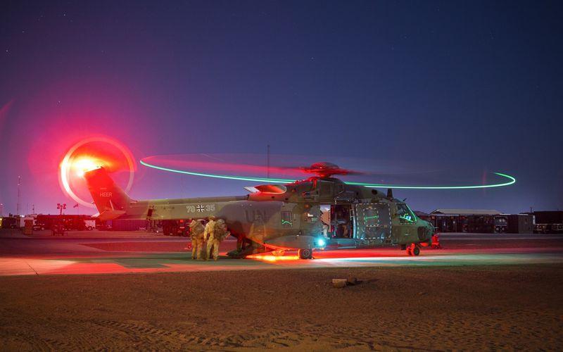 Les hélicoptères NH-90TTH et Tigre UHT allemands viennent de quitter le Mali