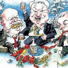 Le 8 décembre 1991, la dissolution de l'URSS par le haut, et ses conséquences