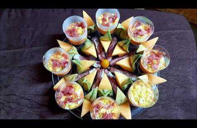 4 découpes et présentations de melon - toc-cuisine vidéo