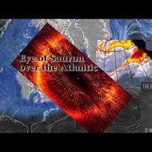 Eye of Sauron in the Atlantic? WTF.