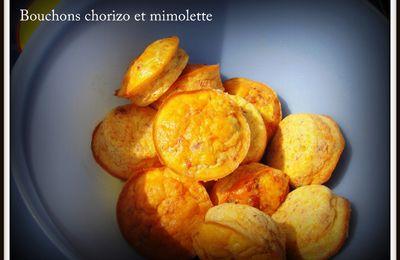 Bouchons chorizo et mimolette
