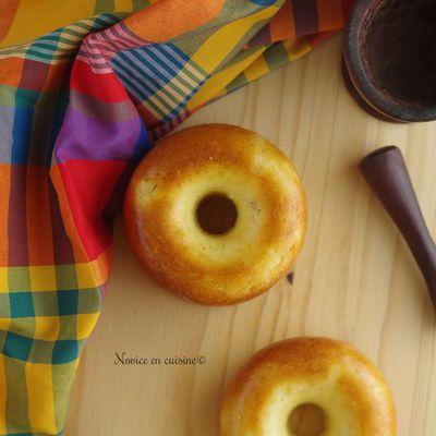 Cakes Antillais {Ananas, Noix de coco et rhum}