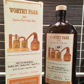 Habitation Velier Worthy Park 2007 WPL - Passion du Whisky