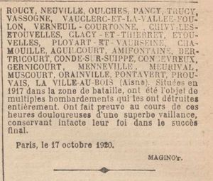 Journal Officiel du 21 octobre 1920