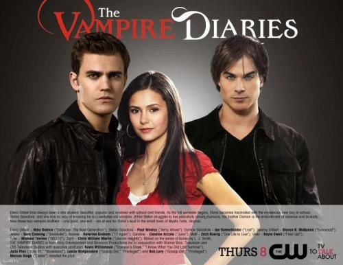 TF1 achète les droits de Vampire Diaries !