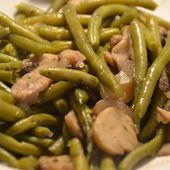 Haricots verts forestiers cookeo |