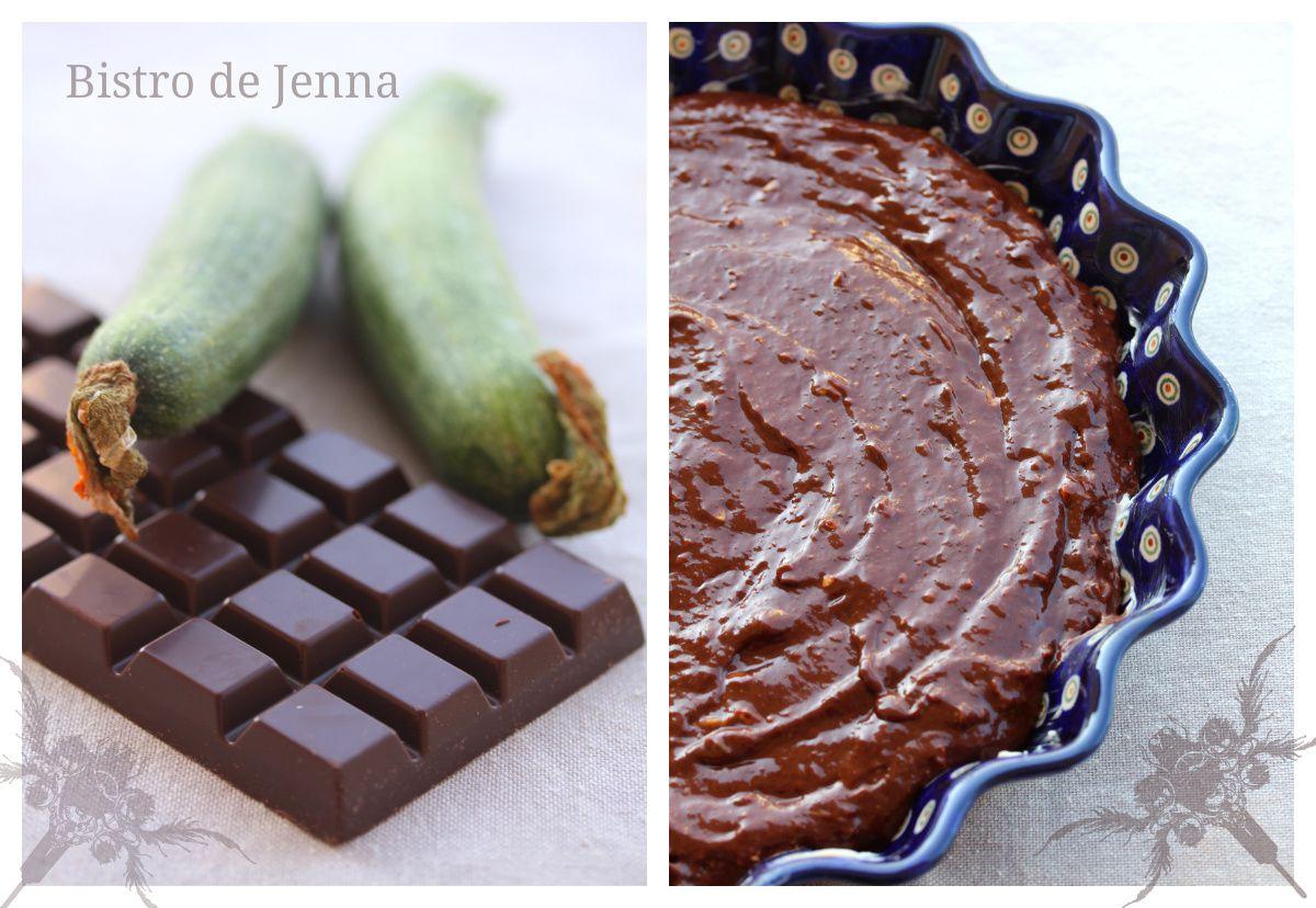 Fondant au chocolat et courgette