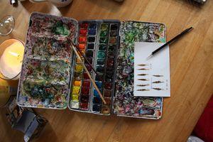 La plume du peintre