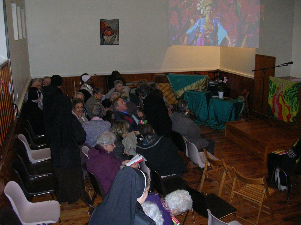 La célébration dans le cadre des JMP ( journée mondiale de prière ) 2012 en faveur des femmes de Malaisie s'est déroulée le vendredi 2 mars au 37 . Voici quelques photos