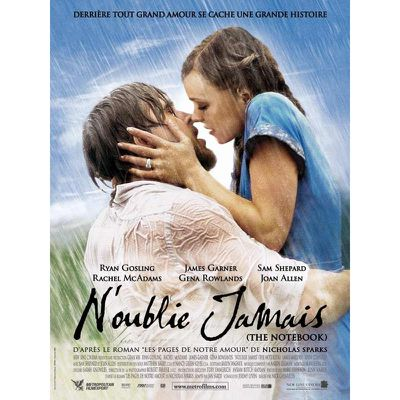 N'oublie jamais (the notebook) film complet.