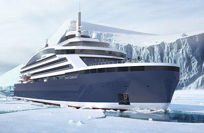 Vidéo - La flotte du Ponant lance le premier paquebot brise-glace de luxe