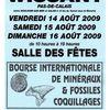 Bourse de Wissant : 14 au 16 août 2009