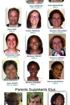 Equipe des représentants élus pour 2015-2016