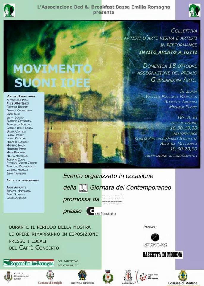 EXPOSITION 2015 A MODENA ...EN ITALIE
