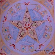 Mandala fête des pères