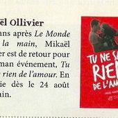 Actualités de Mikaël Ollivier