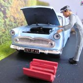 DIORAMAS RN7 LA ROUTE BLEUE ALTAYA - car-collector