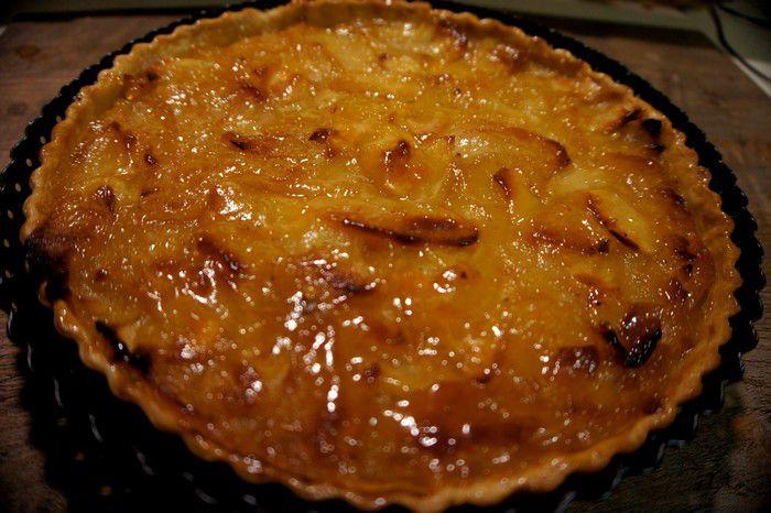 Tarte aux pommes moelleuse-recette de grand mère