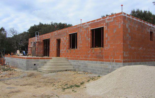 Construire une Maison RT2012 Zone Sismicité Modérée Réalisation Dalle des Combles