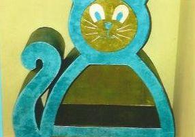 Création stagiaire : bibliothèque chat!!