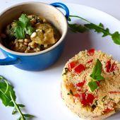 Repas d'un Soir #22 : Cocotte de Poulet au Citron et Taboulé au Cumin! - LacLac, la cuisine sans lactose