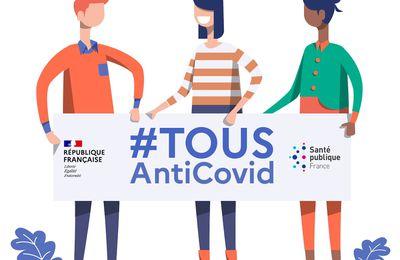 L'application de traçage « TousAntiCovid » est disponible en téléchargement !