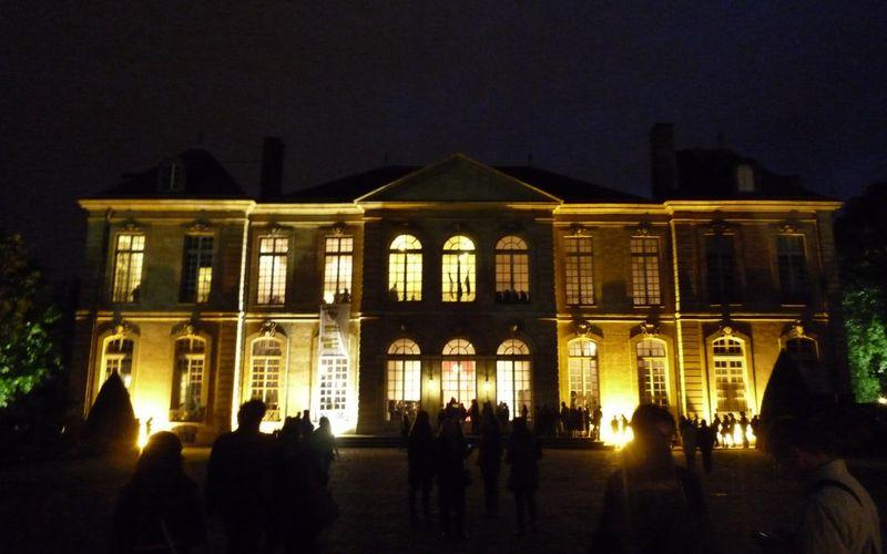 Une nuit au musée Rodin
