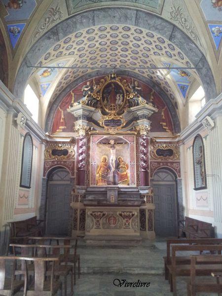 La Chapelle Sainte-Croix à Corte en Corse