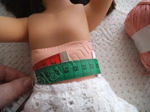tuto gratuit poupée: tunique dos- nu