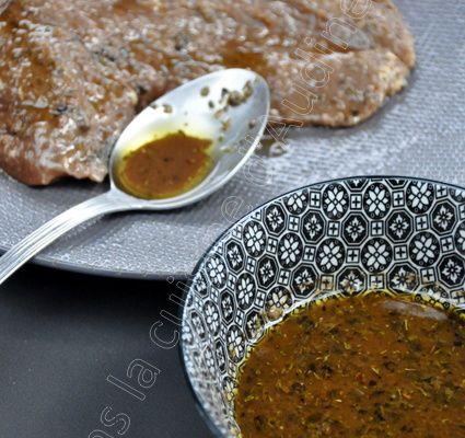 Marinade soja et sauce Worcestershire pour pièce de boeuf