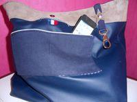 LE XL bleu marine et ses accessoires