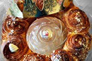 La brioche Bouldouk à la vanille et aux éclats de nougatines- #Battle Food 39