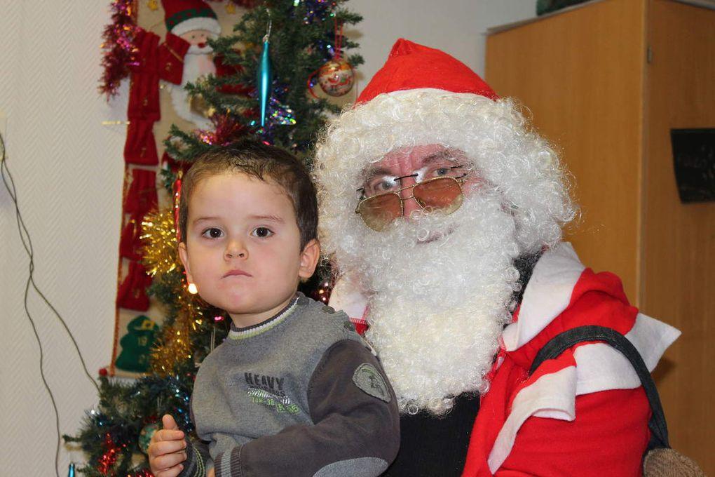 Photos du Père Noël à la Marelle (2014-12)