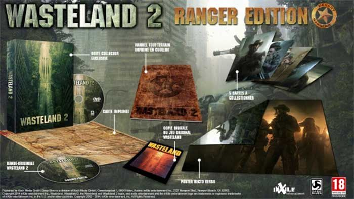 Jeux video: Wasteland 2  le 19 septembre en version physique en France !