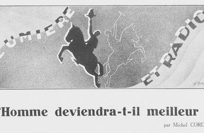 """Michel Corday """"L'Homme deviendra-t-il meilleur ?"""" (1930)"""
