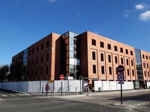 L'immeuble de bureaux du sextant remplacé par de l'immobilier location