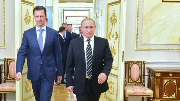 SYRIE : UNE ZONE D'OMBRE SUR L'ACTION DE LA RUSSIE…