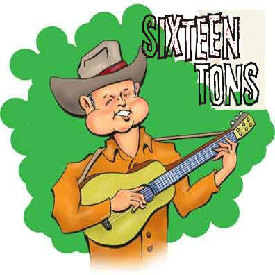 Southern Raised - Sixteen Tons