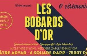 LES 6° BOBARDS D'OR