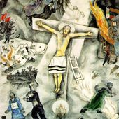 Chagall - La Crucifixion blanche - LANKAART
