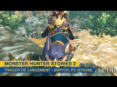 [ACTUALITE] Monster Hunter Stories 2 : Wings of Ruin - Nouveau trailer et roadmap des contenus