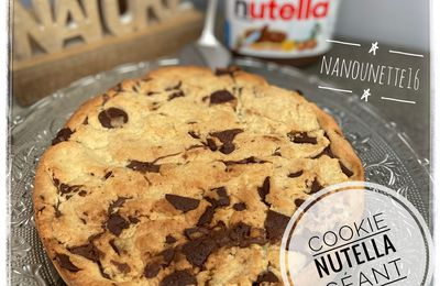 Cookie Géant au Nutella©