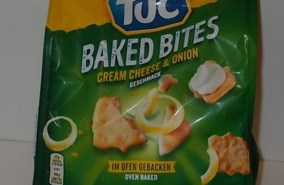 Tuc Baked Bites Cream Cheese & Onion Geschmack