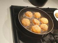 croquetas au jambon fromage