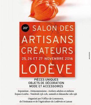 Bâtir Au Féminin au Salon des artisans créateurs de Lodève - du 25 au 27 Novembre 2016