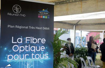 Réunion THD : La commercialisation de la fibre optique a débuté !