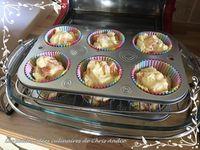 Muffins saumon & emmenthal