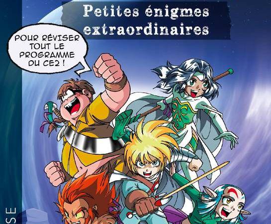 Petites Enigmes des Légendaires aux Éditions Larousse